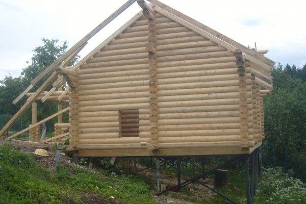 Использование СРФ при строительстве деревянного дома.